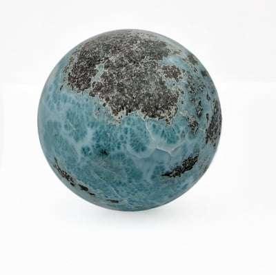 Carribean Blue Larimar Sphere